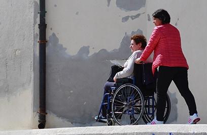 Pflegetagegeld: Lebensqualität erhalten auch im Pflegefall.